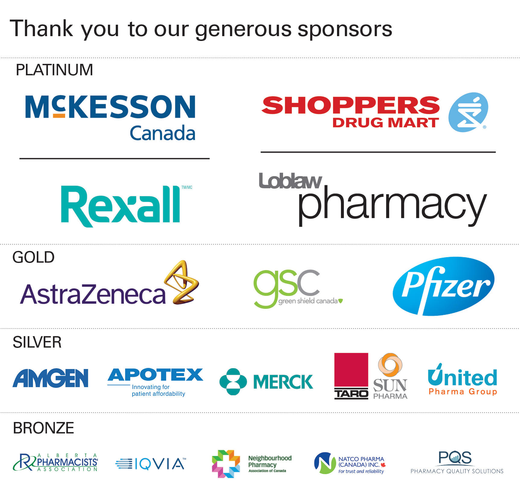 Events - Canadian Foundation for Pharmacy